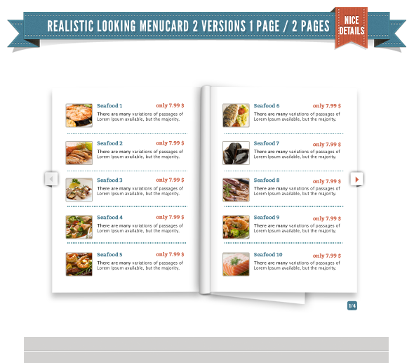Delimondo Seafresh Fully Responsive HTML Template